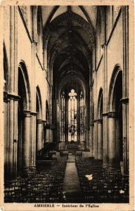 CPA AMBIERLE - Intérieur de l'Église (430609)