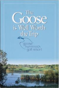 Goose Hummock Golf Resort Edmonton Alberta AB Unused Ad Promo Postcard D37