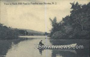 Smith Mill Pond Newton NJ 1912