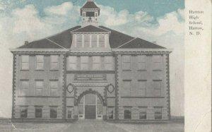 HATTON , North Dakota , 1909 ; High School