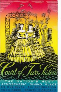 Louisiana New Orleans Court Of Two Sisters Restaurant