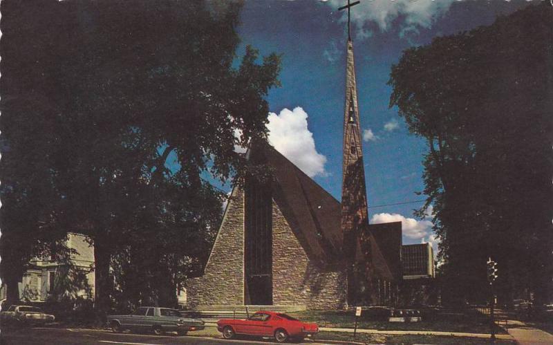 Exterior,  Saint Dunstan's Church,  Fredericton,  N.B.,  Canada,  40-60s