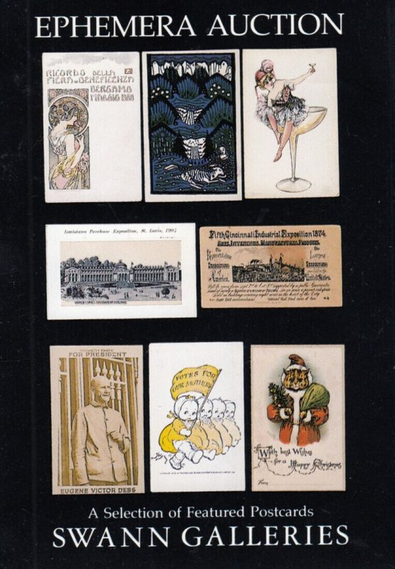 Swann Galleries, Ephemera Auction (Postcards) 1993
