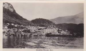 RP, Partial Scene Of Harbour, Ocean Falls, British Columbia, Canada, PU-1948