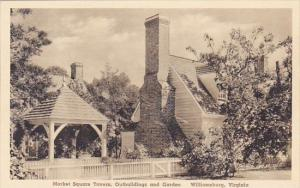 Market Square Tavern Outbuildings And Garden Williamburg Virginia