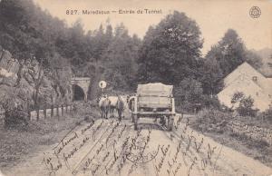 Maredsous , Belgium , PU-1908 ; Entree du Tunnel