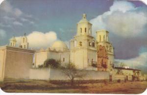 Mission San Xavier Del Bac, Mission Architecture, Near Tuscon, Arizona, PU-1950