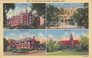 Ohio Columbus At Ohio State University Multiples 1948
