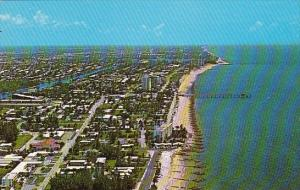 Florida Deerfield Beach An Aerial View Depicting The Many Wonderful Sights Th...