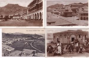 Aden Steamer Point Caravan Camels Middle East 5x Old Postcard s
