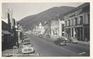 RP: WALLACE ,  Idaho , 1940s ; Bank Street