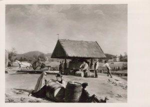 Art Postcard - William Sidney Mount - Cider Making, Metropolitan Museum RR9044