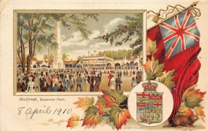 br105921 dominion park montreal canada litho