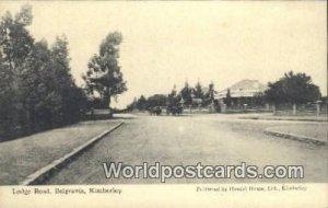 Lodge Road Belgravia Kimberley South Africa Unused
