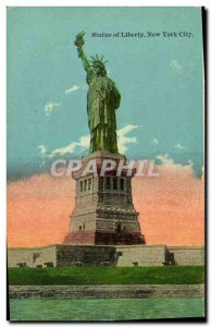 Old Postcard Statue of Liberty Statue of Liberty New York