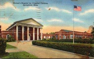 Massachusetts Springfield Shriner's Hospital For Crippled Children 1948 ...