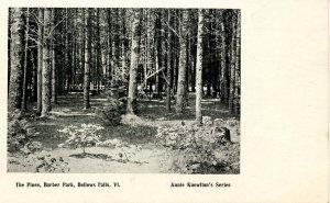 VT - Bellows Falls. The Four Pines, Barber Park