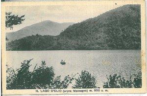 26579   CARTOLINA d'Epoca - VARESE : Lago Delio