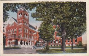 Michigan Lansing Main Building Industrial School For Boys 1916
