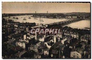 Bordeaux Old Postcard The bay