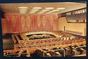 Postcard Used United Nations Economic & Social Chamber NY LB