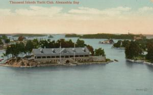ALEXANDRIA BAY , New York , 1900-10s ; Yacht Club House, Thousand Islands # 3