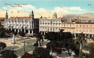 Parque Central Habana Cuba, Republica de Cuba Unused