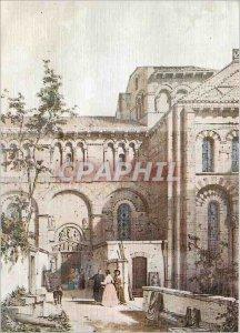 Our Modern Postcard Old Provinces Auvergne Notre Dame du Port Front Side