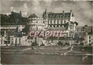 Postcard Modern Amboise Indre et Loire Chateau