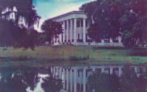 Louisiana Saint Francisville Greenwood Typical Southern Plantation Mansion