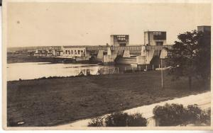Germany - Opening of Dam Eddersheim a. Main 1934 RP