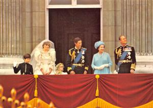 Marriage of TRH Prince & Princess of Wales -