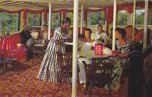Interior-Cocktail Lounge, River Queen- River Boat, Sternwheeler On The River...