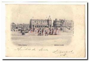 Berck Beach Old Postcard