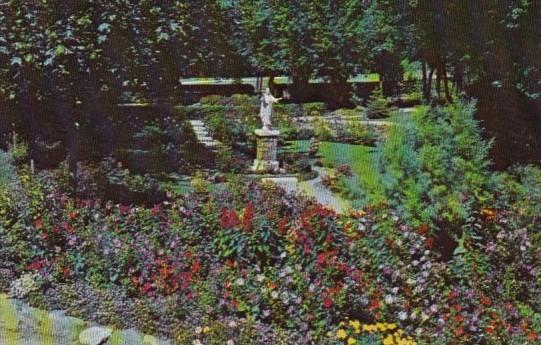 Canada Sacred Heart Gardens At Martyr's Shrine Midland Ontario