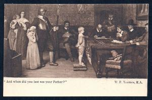 When did you see Father? by Yeames art unused c1910
