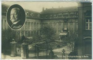 Paul von Hindenburg, Palais des Reichsprasidenten, Berlin