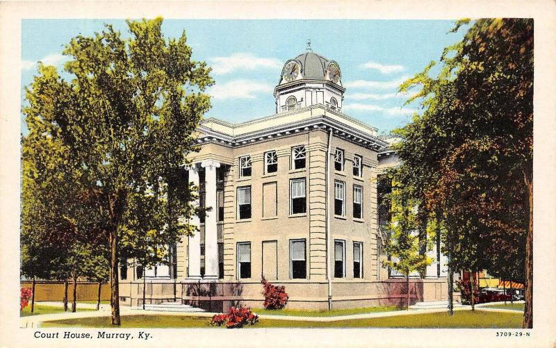 Kentucky Ky Postcard c1920-30s MURRAY County Court House Building
