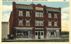Strand Theater Bldg in Old Forge, New York