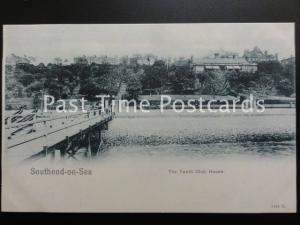Essex SOUTHEND ON SEA & THE YACHT CLUB HOUSE from Jetty c1903 UB Peacock 3634G
