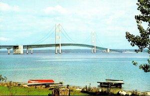 Michigan Mackinac Straits Bridge