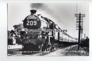 ry1302 - British Railways Engine - The Merchant Venturer - postcard