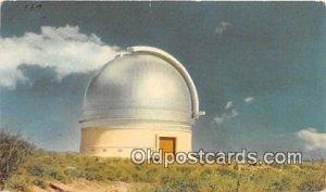 Mt Palomar Observatory Space Palomar Mountain, CA, USA Writing on back