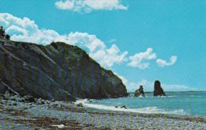 Canada Presqu'ile On Cabot Trail Between Cheticamp and Pleasant Bay Cape Bret...