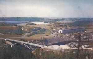 Centrale Electrique de Shipshaw , Quebec , Canada , 40-60s