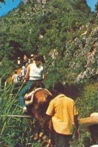 HAITI, Long climb to citadel, Pu 1980