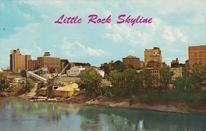 Arkansas Little Rock Skyline