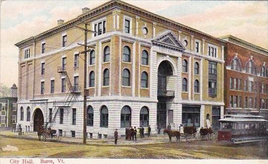 Vermont Barre City Hall