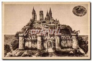 Montlhery - Chateau Fort - Old Postcard