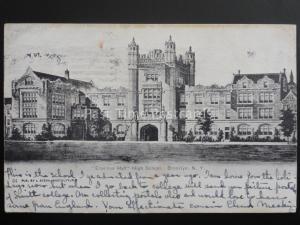 United States BROOKLYN New York ERASMUS HALL HIGH SCHOOL c1905 by I. Stern No.34